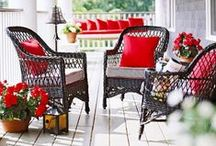 Balcony/Deck/Patio/Porch / by Niki Dague