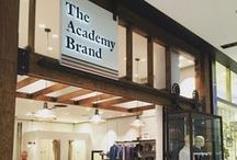 Academy Decor / Vintage interior inspired pieces featured throughout our five Academy Brand stores across Sydney and inspiration.