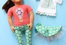 Easy Sewing Projects for Kids {Girls} / Sewing projects, inspiration, and tutorials for girls. Easy sewing projects for kids, especially girls. Easy sewing ideas for little girls. Sewing for beginners learning to sew.
