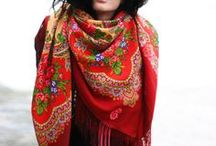 inspiration | fall scarf style
