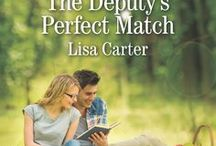 The Deputy's Perfect Match /  Deputy sheriff Charlie Pruitt vowed he'd never get close to another woman again. But that's easier said than done when librarian Evy Shaw arrives in his small coastal Virginia town with a secret—one Charlie's determined to uncover. When Charlie joins Evy's all-female book club, he gets more than he anticipated. Falling for the pretty librarian wasn't part of the plan, but when the truth behind Evy's suspicious behavior comes to light, will love be enough to bind them together?