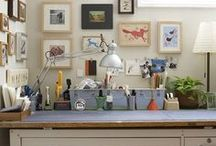 Studio ✁ Workspaces / by Blaza Chen