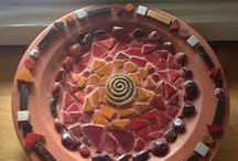 Mosaic inspired creations / Saturday mornings we get together and create