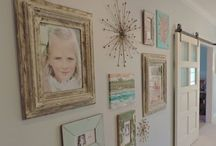 Photo Gallery Walls / by Hooked On Beauty