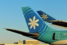 Flying Air Tahiti Nui / by Foreigner