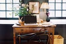 home office / by Katie Katie