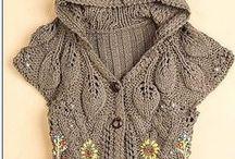 Knitting fashion.