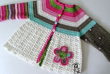 Crochet clothes for kids.