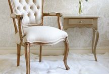 French Flair / Since medieval times, France has created some of the most refined and beautiful furniture in the world. Early on, the French aristocracy was obsessed with culture, beauty and social status, particularly when it came to fashion and interior decor.  / by Christa Van Vuuren