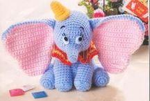 Crochet stuffies.