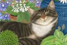 Art: Cats.