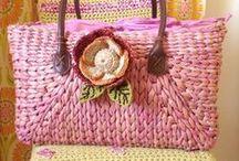 Knitting bags.