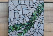 Stained glass-mosaic / by Janie VandeBerg
