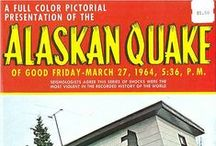 Great Alaska Earthquake 50th anniversary / March 27, 2014 marked the 50th anniversary of the Great Alaska Earthquake – an enormous 9.2M quake that generated a powerful tsunami that reached the shores of Port Alberni, B.C.  Source credit:  A Full Color Pictorial Presentation of the Alaskan Quake Plastichrome Travel Series Published by J & H Sales, Anchorage, Alaska