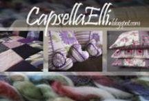 Capsella / Wyszywane poduszki, handmade'owa biżuteria, odnawianie mebli.... czyli jak w prosty sposób odmienić dekoracje w swoim domu. Zajrzyj do szkatułki pełnej piękna w stylu DIY.