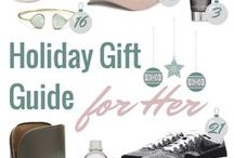 Holiday Gift Guide / A guide on what gift to buy this holiday season. Friends, your mother, sisters, co-workers, stocking stuffers, you name it!