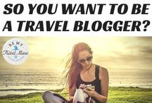 How to become a sucessful travel blogger / All you need to know when you're thinking about becoming a travel blogger, tips and tricks from the most sucessful travel bloggers out there.