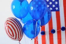 Stars & Stripes ★ / Patriotic party supplies and ideas!