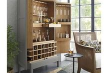 Bar / Follow for daily inspiration and decor ideas for bar carts, bar cabinets, wine storage, and more