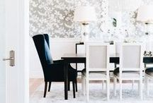 Dining Room / Follow for daily inspiration and dining room decor ideas