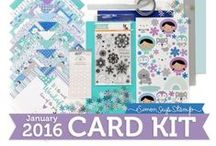"""The Latest Kit Releases: Monthly Scrapbook Kit Club Directory - ScrapClubs.com / Find a full list of the latest scrapbooking kit club kits with photos, links, and """"What's Inside"""" monthly scrapbook kit videos at http://scrapclubs.com."""