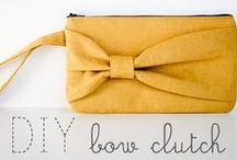 Purses / DIY purse, tote, wallet, and case tutorials to make your accessories as fabulous as you!