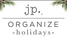 jp. | Organize: Holidays / Organizational products + ideas to keep you organized for the holidays.
