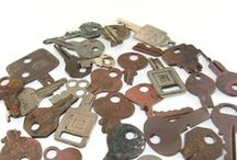 Vintage Keys / by Betsi Goutal - eccentric spirit