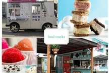 Food Trucks and More / A trend right now but also a space for want to be chefs to practice their craft of creating good food offered in a laid-back, casual environment. And, they can move to various locations. The newest trend is boutiques on wheels. / by Barbara Perino