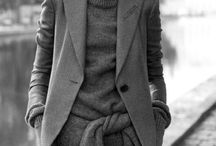 Coats / Stylish ways to wear coats, trenches, wraps, scarves, hats, and layers in the midst of cold seasons