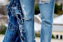 Ripped Denim / The perfect ripping  of great denim fashion