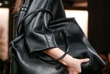 Fashion: Black on Black / Black fashion in textures, cuts, fits, and details