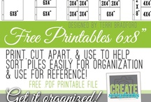Project Life Free Printables & Organization Tips