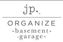 jp. | Organize : Basement + Garage / Organizing tips and solutions for the basement, garage, attic, utility area and car.