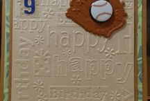 Card Making~~Baseball