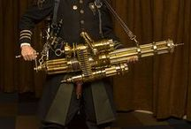 The Armory: Steampunk Guns & Weapons / Inspiration for modifying toy guns into steampunk props. / by Betsi Goutal - eccentric spirit
