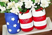 Independence Day Inspiration / Red, white and blue ideas for decorating and entertaining for the 4th of July.  / by Jeffrey Phillip