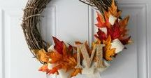 Fall / DIY fall decor ideas and crafts to make your home ready for autumn!