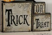 Halloween / DIY Halloween decor and crafts to make your home spooktacular for Halloween!