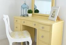 Furniture / DIY inspiration for upgrading, renovating, repairing, and painting old furniture.