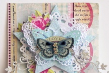 Scrapbook, tags & cards