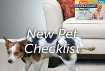 New Pet Checklist / The big day is here. You've probably made a list - and checked it twice - of all of the things you'll need when you welcome your pet into his new home.  Like all new pet parents, you have plenty of toys, but here are a few other things to consider.  These items will help to insure that your bond with your dog starts off on the right foot.