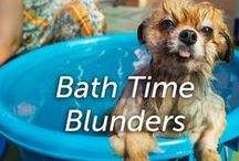 Bath Time Blunders / How easy is it for you to give your pet a bath?