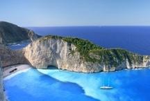 "Greece / ""Happy is the man, I thought, who, before dying, has the good fortune to sail the Aegean sea.""  ― Nikos Kazantzakis, Zorba the Greek"