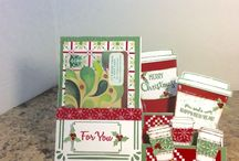 Cards  (hand-made) / I am a Stampin Up Demonstrator and I love to make Cards and Crafts.  If your interested in Stampin Up products, have a question, or need a catalog, just send me a note. I'll get one right out to you. Happy Stamping!