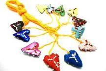 espinas y corazones / accesorios con corazones y espinas