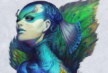 Body Paint inspiration / Body paint inspiration