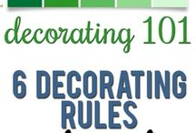 Decorating Tips / by Kristen Nelson