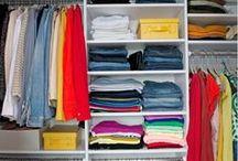 Closet Organization / by Archita Benvie