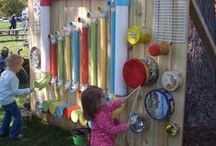 Outdoor Play Ideas / Outdoor play Ideas for Kids.  Childhood Memories begin with play and exploration, Finlee and Me shares ideas for parents to encourage outdoor play for kids as they grow and explore.